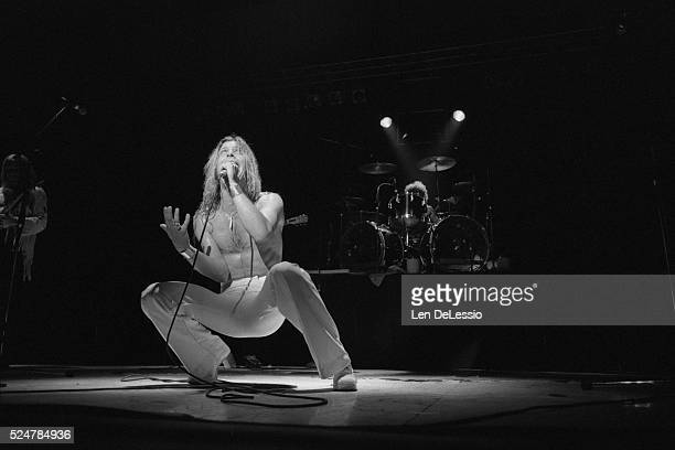Jim Dandy Mangrum performing with Black Oak Arkansas May 31 1975 Venue unknown