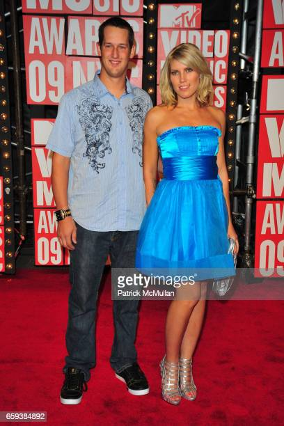 Jim Dechamp and Jolene Van Vugt attend 2009 MTV Video Music Awards Arrivals at Radio City Music Hall on September 13 2009 in New York City