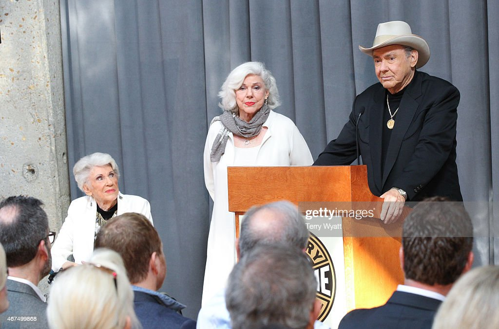 Jim Ed Brown speaks at 2015 Country Music Hall Of Fame Inductees Announcement at the Country Music Hall of Fame and Museum on March 25, 2015 in Nashville, Tennessee.