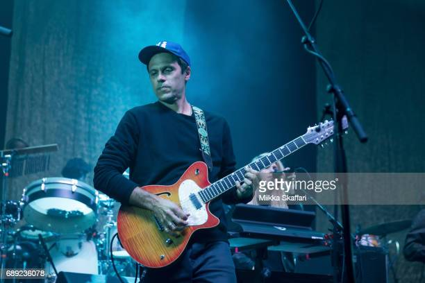 Jim Fairchild of Modest Mouse performs at The Masonic Auditorium on May 27, 2017 in San Francisco, California.