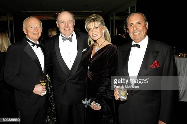 Jim Farmer Hugh Bancroft Joy Bancroft and Arthur Rosenstein attend VAN CLEEF ARPELS Host a Dinner and Presentaton of TRESSORS REVELES Celebrating the...