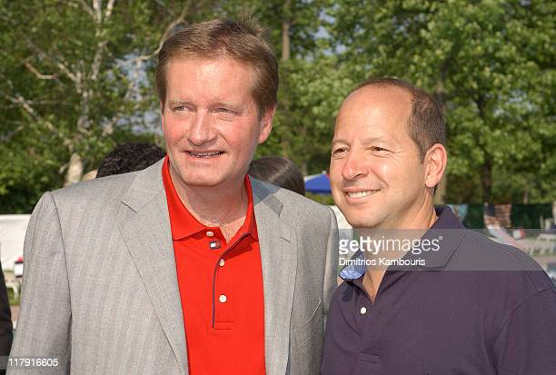 Jim Fassel and Ron Galotti during Tommy Hilfiger 3rd Annual All American Golf Classic to Benefit The Anti Defamation League at Montammy Golf Club in...