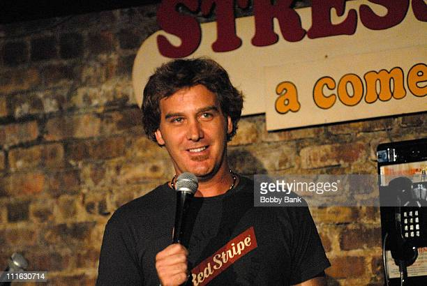 Jim Florentine performs at the Stress Factory on August 9, 2008 in New Brunswick, New Jersey.