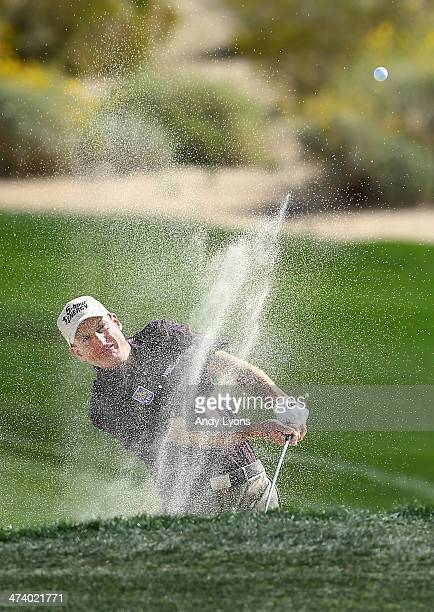 Jim Furyk plays his second shot on the second hole during the third round of the World Golf Championships - Accenture Match Play Championship at The...