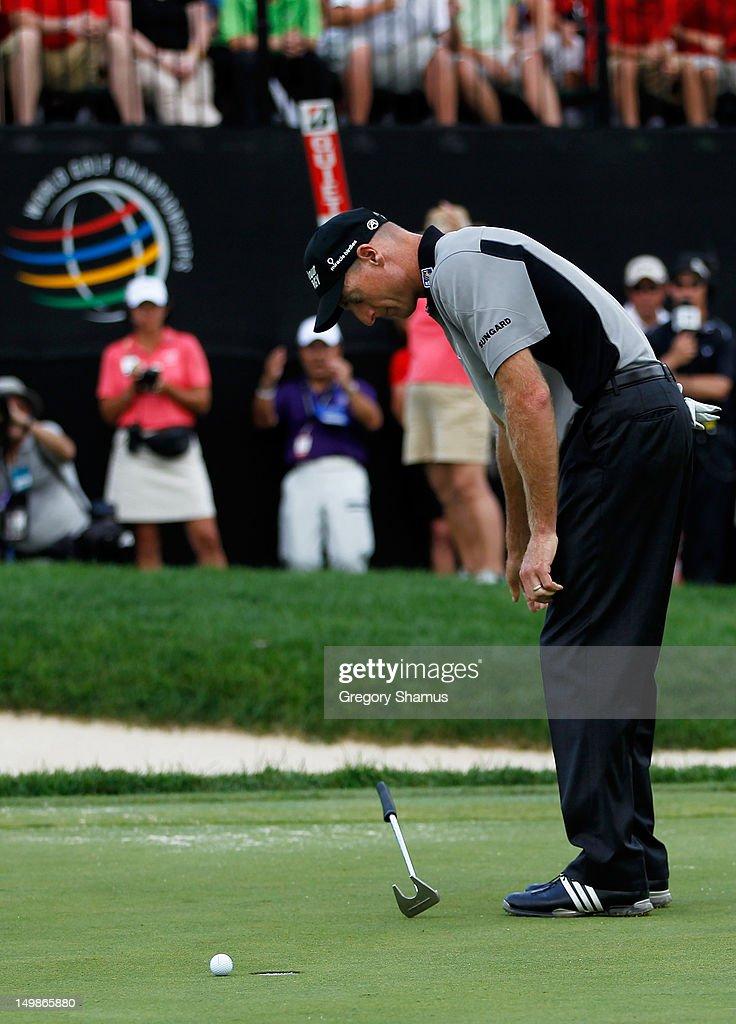 World Golf Championships-Bridgestone Invitational - Final Round