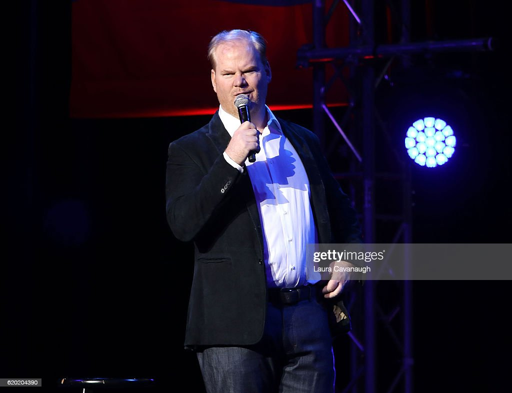Jim Gaffigan attends 10th Annual Stand Up For Heroes - Show at The Theater at Madison Square Garden on November 1, 2016 in New York City.