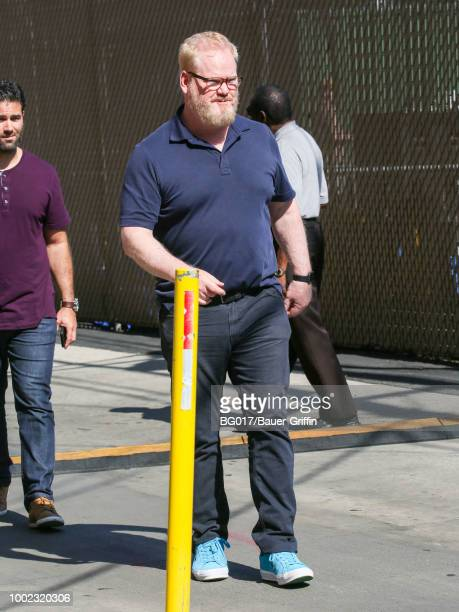 Jim Gaffigan is seen at 'Jimmy Kimmel Live' on July 19 2018 in Los Angeles California