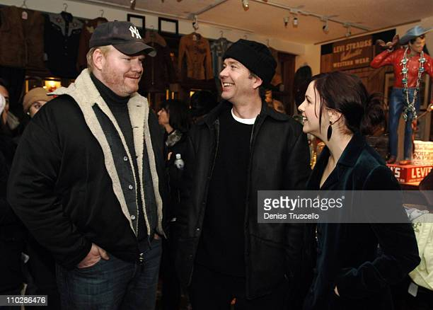 Jim Gaffigen Timothy Hutton and Amber Tamblyn at 'Stephanie Daley' Premiere Party at Levi's Dry Goods