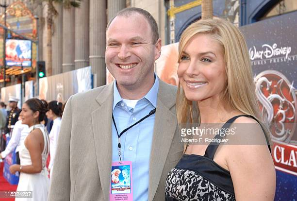 Jim Gallagher Disney and Elizabeth Mitchell during The Santa Clause 3 The Escape Clause Los Angeles Premiere Red Carpet at El Capitan in Hollywood...