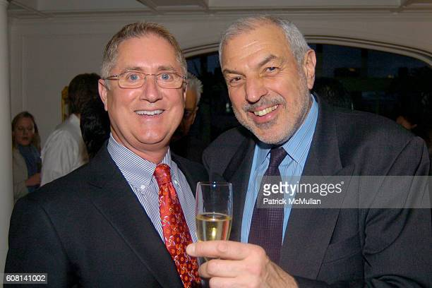 Jim Gentry and Richard Cohen attend MICHAEL S SMITH AGRARIA COLLECTION LAUNCH at Lowell Hotel on April 18 2007