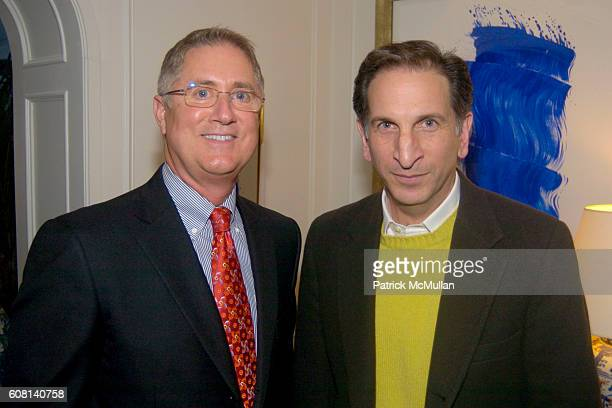 Jim Gentry and Stephen Druker attend MICHAEL S SMITH AGRARIA COLLECTION LAUNCH at Lowell Hotel on April 18 2007