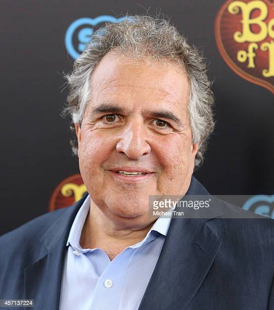 "Jim Gianopulos arrives at the Los Angeles premiere of ""Book Of Life"" held at Regal Cinemas L.A. Live on October 12, 2014 in Los Angeles, California."