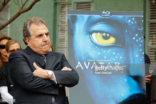 Jim Gianopulos attends the Bluray and DVD release of 'Avatar' Earth Day tree planting ceremony at Fox Studio Lot on April 22 2010 in Century City...