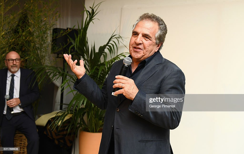 Jim Gianopulos attends The Hollywood Foreign Press Association Honour Filmaid International party during The 69th Annual Cannes Film Festival on May 13, 2016 in Cannes, France.