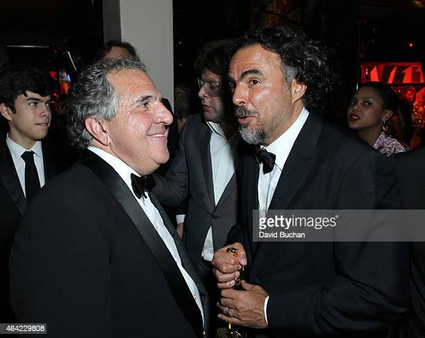 Jim Gianopulos Chairman and CEO Fox Filmed Entertainment and Director Alejandro Gonzalez Inarritu attend the 21st Century Fox and Fox Searchlight...