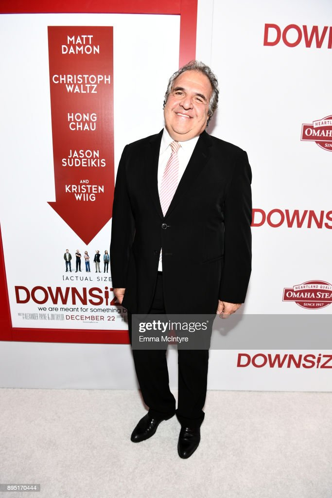 Jim Gianopulos, Chief Executive Officer of Paramount Pictures attends the premiere of Paramount Pictures' 'Downsizing' at Regency Village Theatre on December 18, 2017 in Westwood, California.