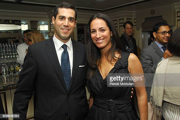 Jim Gold and Anna Pinheiro attend BERGDORF GOODMAN and MICHELLE ONG Host the Premiere of Her Jewelry Collection CARNET at Bergdorf Goodman on October...