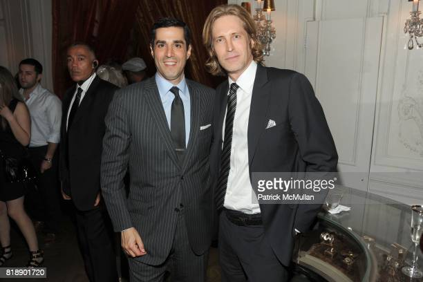 Jim Gold and Bruce Hoeksema attend HP CONDE NAST and BERGDORF GOODMAN Sex The City 2 After Party at Bergdorf Goodman on May 25 2010 in New York City