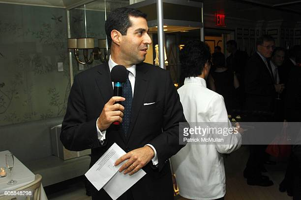Jim Gold attends BERGDORF GOODMAN and MICHELLE ONG Host the Premiere of Her Jewelry Collection CARNET at Bergdorf Goodman on October 10 2007 in New...