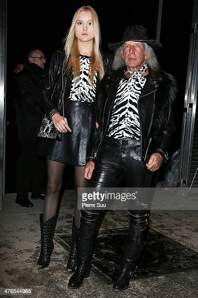 Jim Goldstein attends the Saint Laurent show as part of the Paris Fashion Week Womenswear Fall/Winter 20142015 on March 3 2014 in Paris France