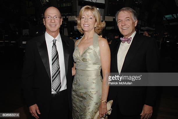 Jim Gordon Liz Peek and Jeff Peek attend THE WHITNEY MUSEUM of AMERICAN ART 2007 American Art Award at New York Stock Exchange on May 21 2007 in New...