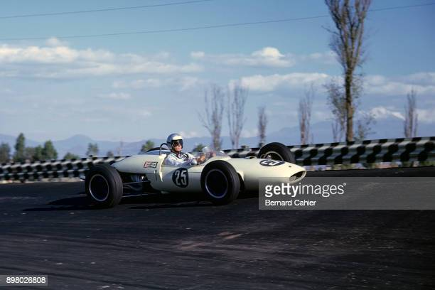 Jim Hall LotusClimax 24 Grand Prix of Mexico Hermanos Rodriguez 11 April 1962