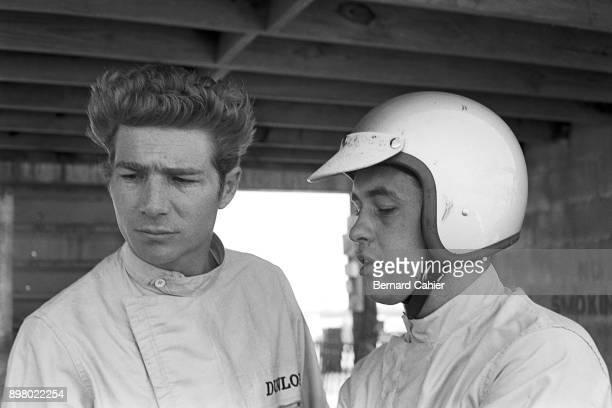 Jim Hall Roger Penske Grand Prix of the United States Watkins Glen International 04 October 1964