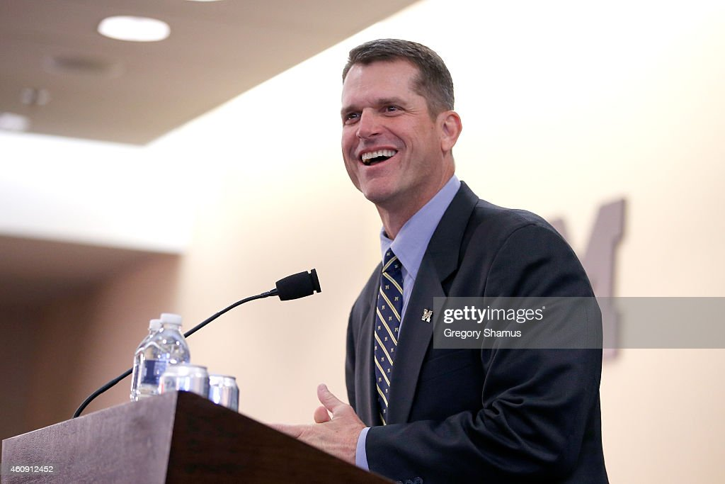 University of Michigan Introduces Jim Harbaugh