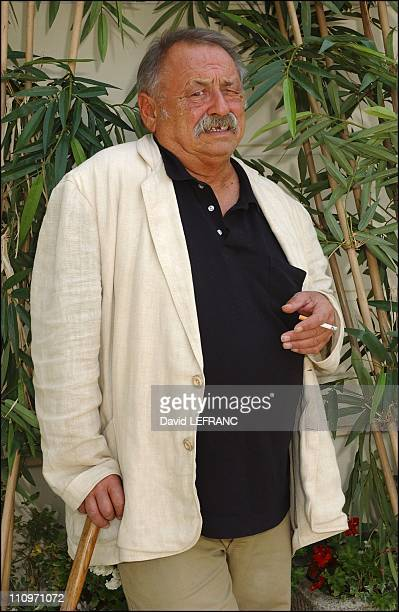Jim Harrison awarded literary prize of the thirtieth Deauville US film festival for his novel 'True North' in Deauville France on September 10 2004