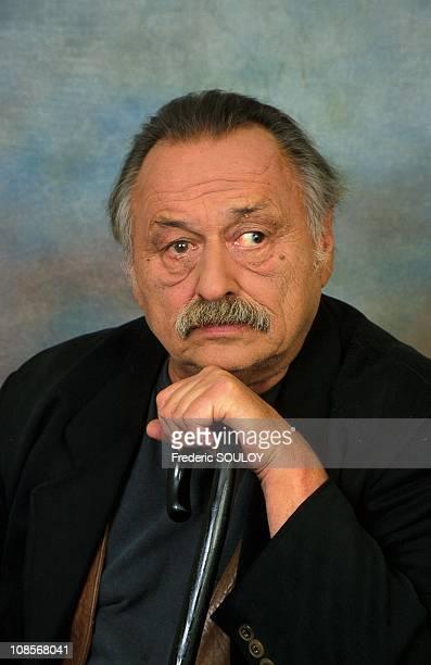 Jim Harrison in France in May 2000