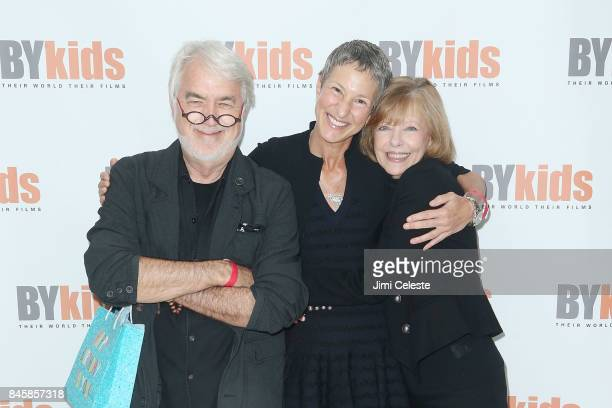 Jim Hart Holly Carter and Judy Hart attend BYkids 10th Anniversary Benefit Screening and Discussion of 'Poet Against Prejudice' at Time Inc...