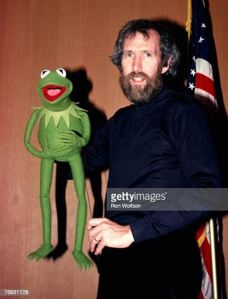 Jim Henson Kermit the Frog perform on the TV show 'Solid Gold' KTLA Studios Los Angeles California