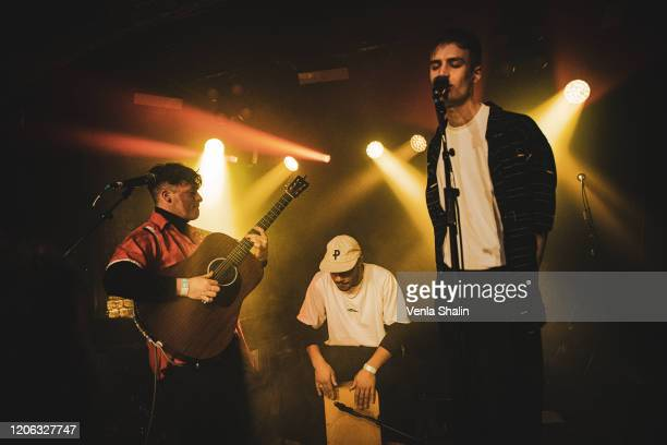 Jim Higson of Kawala performs at the Omeara London on February 14 2020 in London England