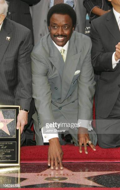 Jim Hill during Jim Hill Honored With a Star on the Hollywood Walk of Fame in Los Angeles California United States