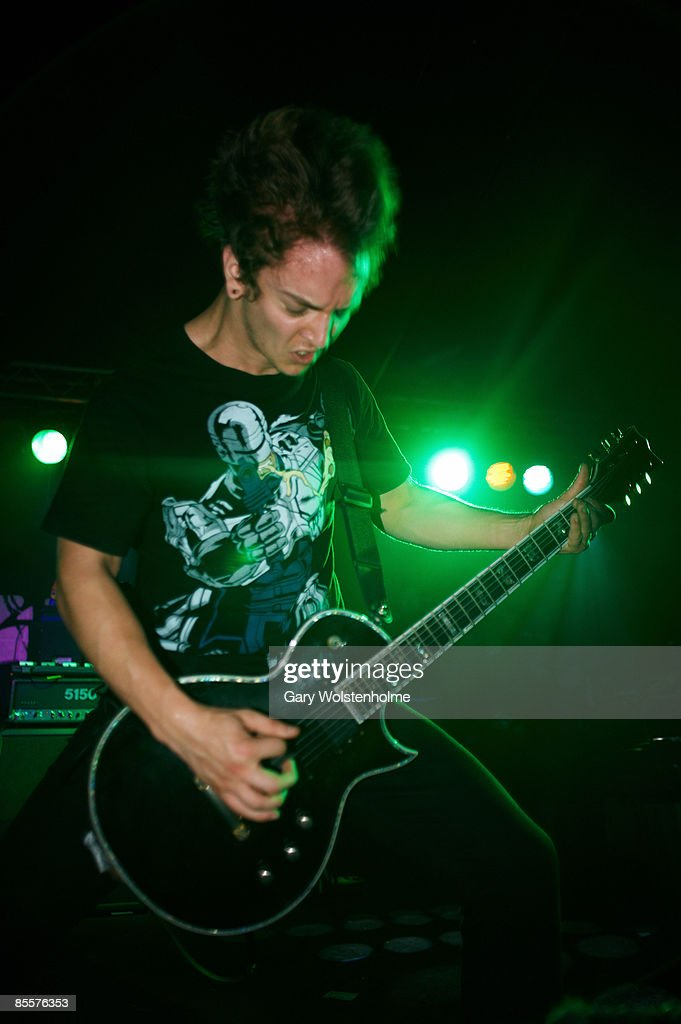 Jim Hocking of For Fallen Dreams performs on stage at The