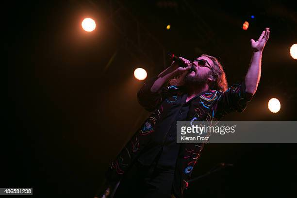 Jim James of My Morning Jacket performs at Electric Picnic on September 4 2015 in Stradbally Ireland