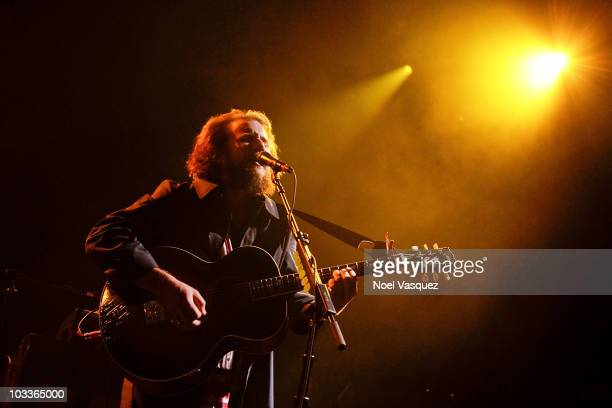 Jim James of My Morning Jacket performs at The Greek Theatre on August 12, 2010 in Los Angeles, California.