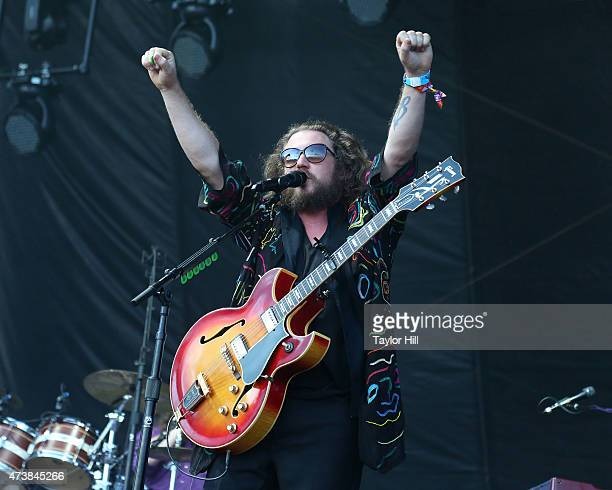 Jim James of My Morning Jacket performs during Hangout Music Festival 2015 on May 17 2015 in Gulf Shores Alabama