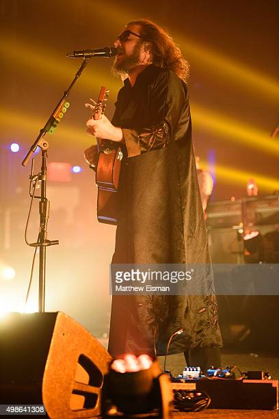 Jim James of My Morning Jacket performs live on 'The Waterfall Tour' at Beacon Theatre on November 24 2015 in New York City