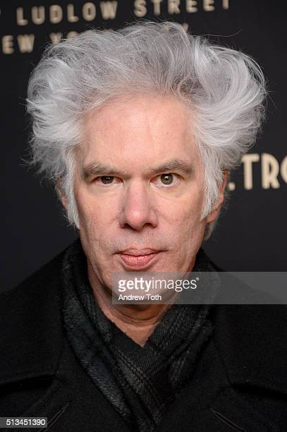 Jim Jarmusch attends the Metrograph opening night at Metrograph on March 2, 2016 in New York City.