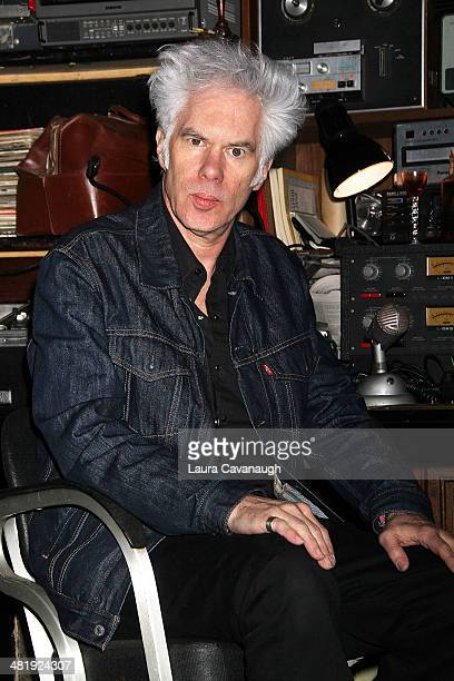 "Jim Jarmusch attends the ""Only Lovers Left Alive"" New York screening concert at Santos Party House on April 1, 2014 in New York City."