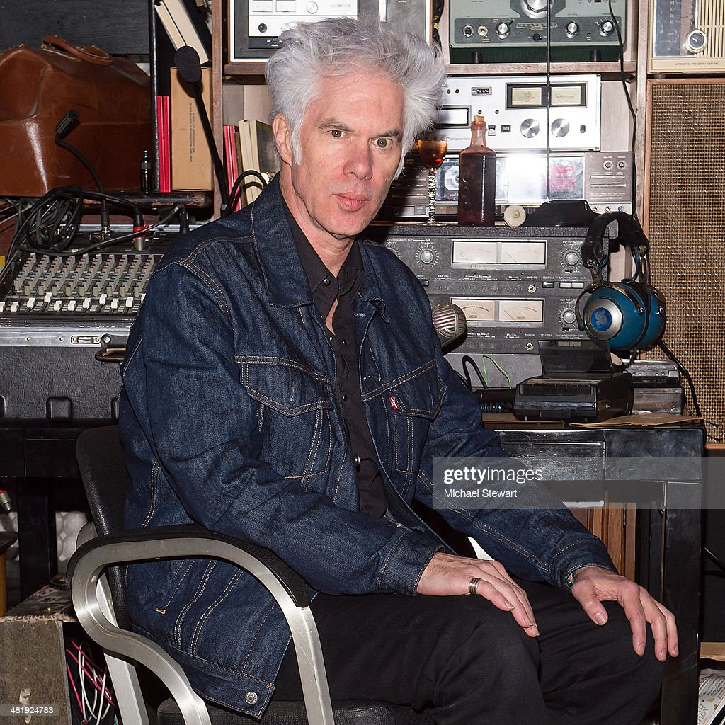 Jim Jarmusch attends the 'Only Lovers Left Alive' New York screening concert at Santos Party House on April 1, 2014 in New York City.