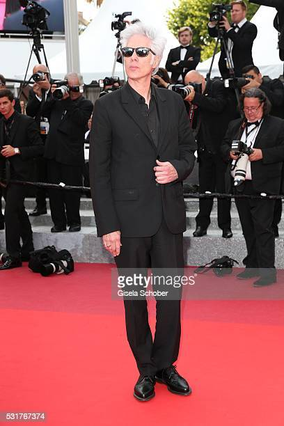 Jim Jarmusch attends the 'Paterson' premiere during the 69th annual Cannes Film Festival at the Palais des Festivals on May 16 2016 in Cannes France