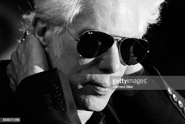 "Jim Jarmusch attends the screening of ""Gimme Danger"" at the annual 69th Cannes Film Festival at Palais des Festivals on May 19, 2016 in Cannes,..."