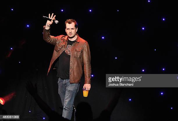 Jim Jefferies performs at KROQ 106.7 FM Kevin & Bean's April Foolishness 2014 at the Shrine Auditorium on April 5, 2014 in Los Angeles, California.