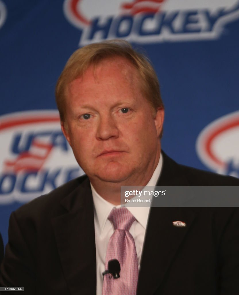 USA Hockey Press Conference : News Photo