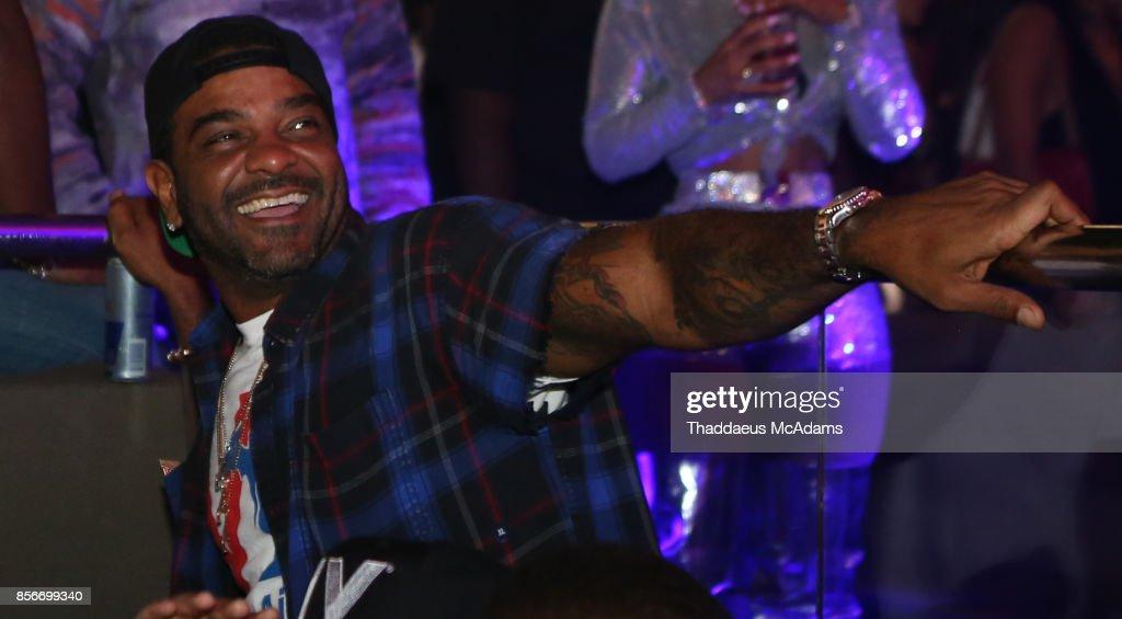 Jim Jones at LIV nightclub at Fontainebleau Miami on October 1, 2017 in Miami Beach, Florida.