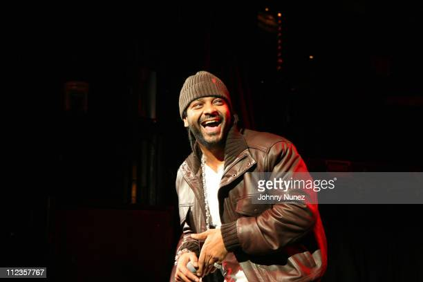 Jim Jones during Russell Simmons' Rush Philanthropic Presents The Seventh Annual Holiday Party at Irving Plaza in New York City New York United States
