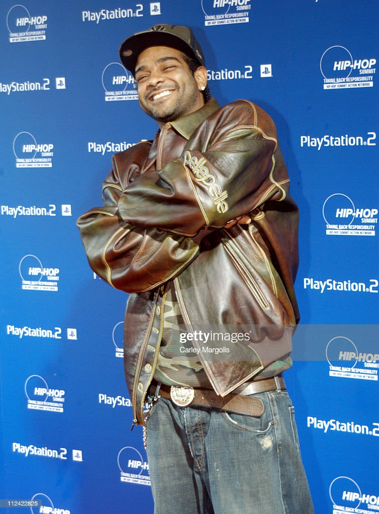 Jim Jones during Sony Playstation 2 Teams with Russel Simmons and the Hip-Hop Summit Action Network to 'Race to the Polls' - Arrivals at Hammerstein Ballroom in New York City, New York, United States.