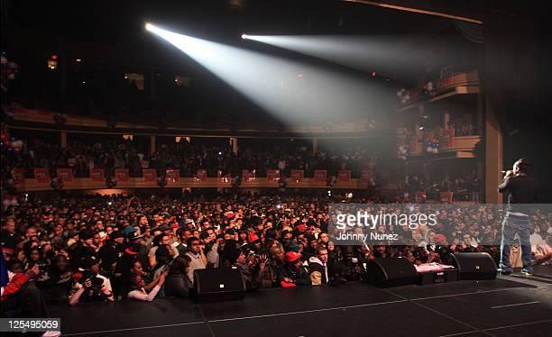 Jim Jones performs during THe Dipset Reunion at Hammerstein Ballroom on November 26 2010 in New York City